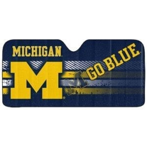 Michigan Wolverines Merchandise - Sunshade