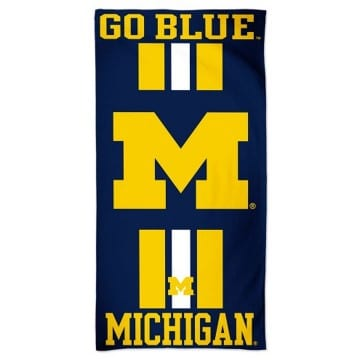 Michigan Wolverines Merchandise - Beach Towel