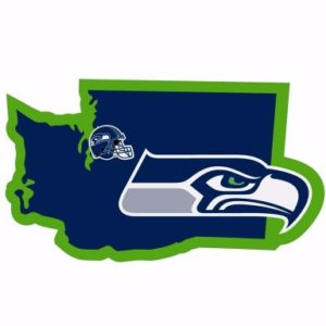 Seattle Seahawks Merchandise - Home State Decal
