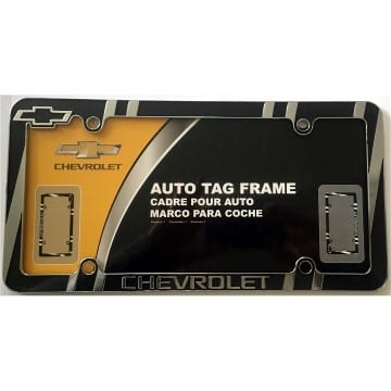 Chevrolet Merchandise - Metal License Plate Frame