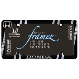 Honda Merchandise - Metal License Plate Frame