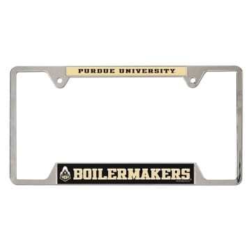 License Plate Frame - Purdue Boilermakers Merchandise