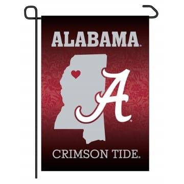 Garden Flag - Alabama Crimson Tide - Home State