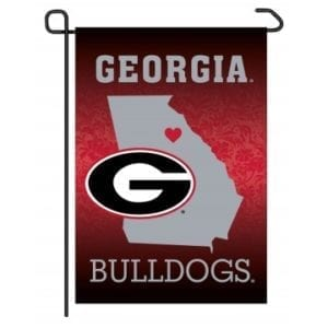 Georgia Bulldogs Merchandise - Home State Garden Flag