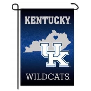 Kentucky Wildcats Merchandise - Home State Garden Flag