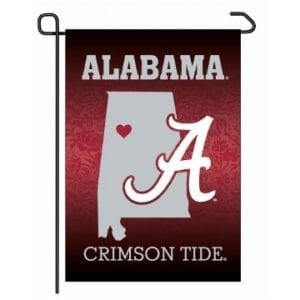Alabama Crimson Tide Merchandise - Home State Garden Flag