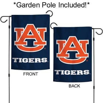 Auburn Tigers Merchandise - Garden Flag with Pole