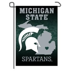 Michigan State Spartans Merchandise - Home State Garden Flag