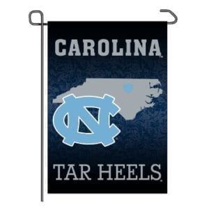 North Carolina Tar Heels Merchandise - Home State Garden Flag