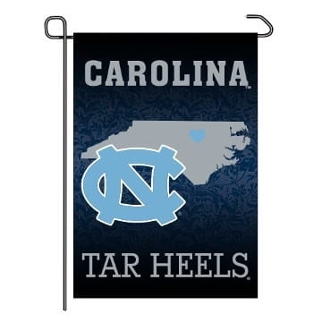 Garden Flag - Home State - North Carolina Tar Heels Merchandise