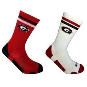 Georgia Bulldogs MercHome and Away Socks