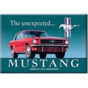 Ford Mustang Merchandise - Magnet