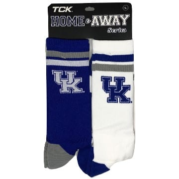 TCK Socks - Kentucky Wildcats Merchandise