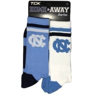 North Carolina Tar Heels Merchandise - Home and Away Socks