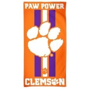 Clemson Tigers Merchandise - Beach Towel