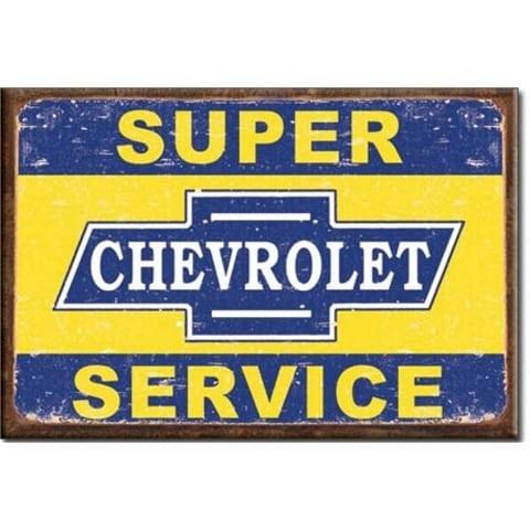 Super Chevrolet Service Magnet