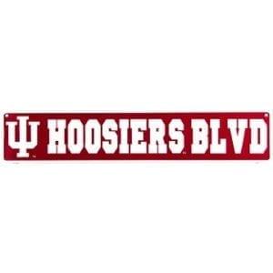 Indiana Hoosiers Merchandise - Street Sign
