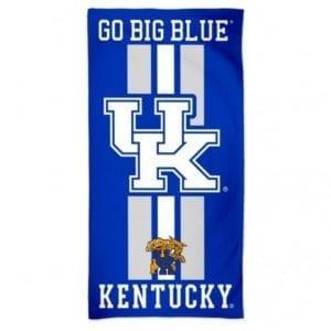 Kentucky Wildcats Merchandise - Striped Beach Towel