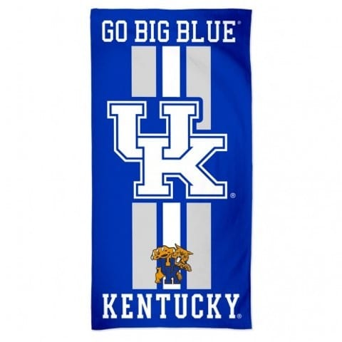Kentucky Wildcats Merchandise - Striped Beach Towel