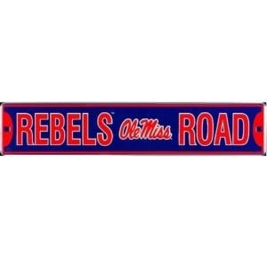 Ole Miss Rebels Merchandise - Street Sign