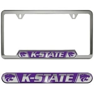 Kansas State Wildcats Merchandise - License Plate Frame
