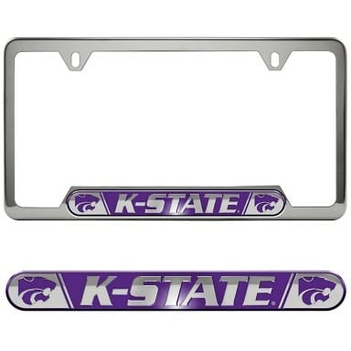 Kansas State Wildcats Merchandise - License Plate Frame