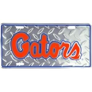 Florida Gators Merchandise - Diamond License Plate