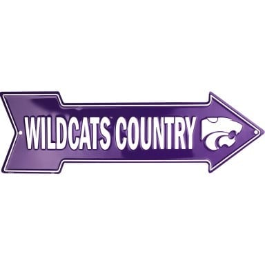 Kansas State Wildcats Merchandise - Arrow Sign
