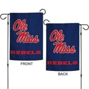 Ole Miss Rebels Merchandise - Garden Flag