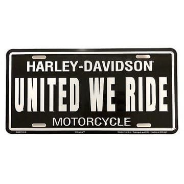 Harley Davidson Merchandicse - License Plate