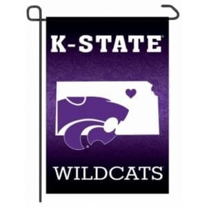 Kansas State Wildcats Merchandise - Home State Garden Flag