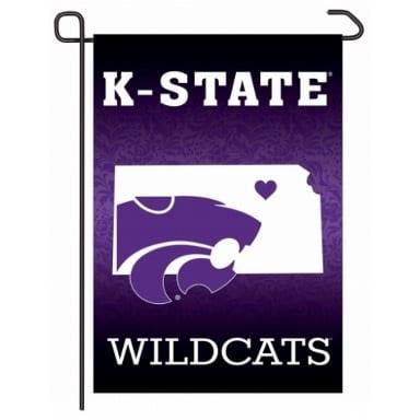 Kansas State Wildcats Merchandise - Home State Garden Flag