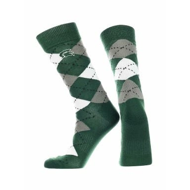 Michigan State Spartans Merchandise - Argyle Socks