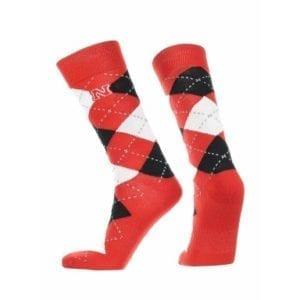 Nebraska Cornhuskers Merchandise - Argyle Socks