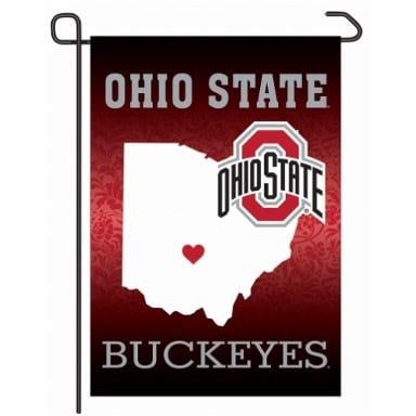 Ohio State Buckeyes Merchandise - Home State Garden Flag