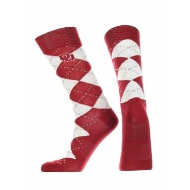 Oklahoma Sooners Merchandise - Argyle Socks