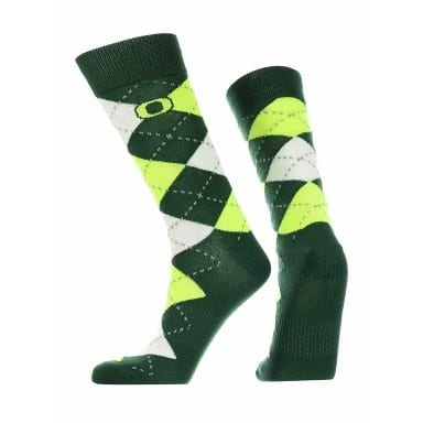 Oregon Ducks Merchandise - Argyle Socks