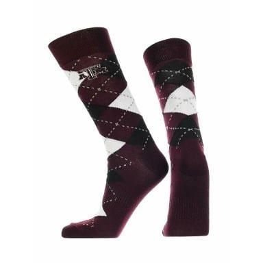 Texas A&M Aggies Merchandise - Argyle Socks