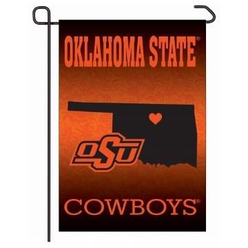 Oklahoma State Cowboys Merchandise - Garden Flag