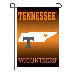 Tennessee Volunteers Merchandise - Home State Garden Flag