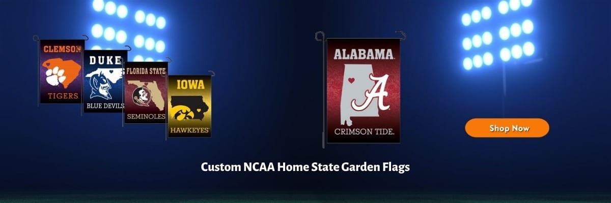 Home State Garden Flag Banner