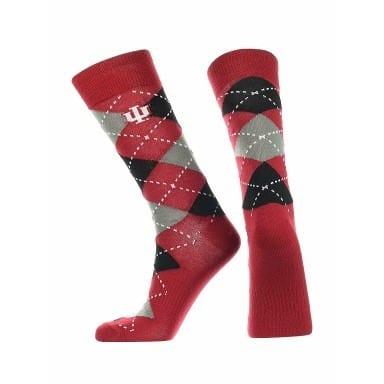Indiana Hoosiers Merchandise - Argyle Socks