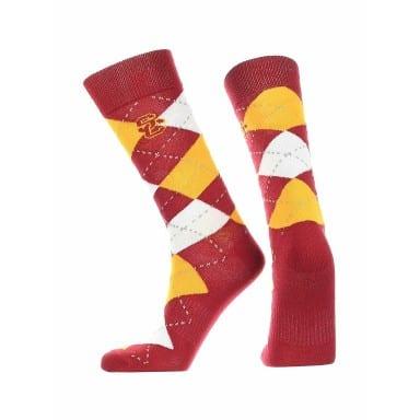 USC Trojans Merchandise - Argyle Socks