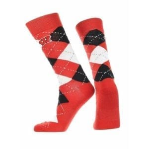 Wisconsin Badgers Merchandise - Argyle Socks