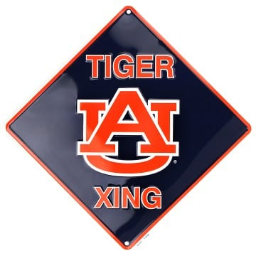 Auburn Tigers Merchandise - Crossing Sign
