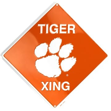 Clemson Tigers Merchandise - Crossing Sign