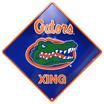 Florida Gators Merchandise - Crossing Sign