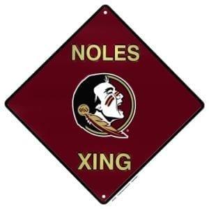 Florida State Seminoles Merchandise - Crossing Sign