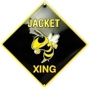 Georgia Tech Yellow Jackets Merchandise - Crossing Sign