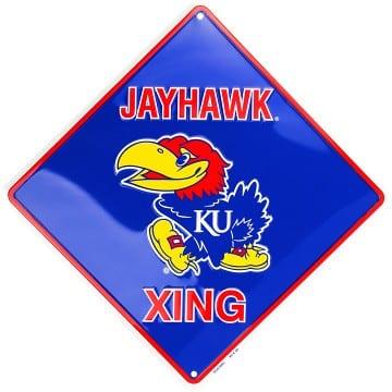 Kansas Jayhawks Merchandise - Crossing Sign